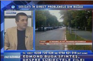 PROBLEMELE DIN BUZĂU, SESIZATE LA CAMPUS TV