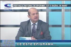"""FESTIVALUL NAŢIONAL DE EPIGRAMĂ """"CÂT E BUZĂUL DE MARE"""""""