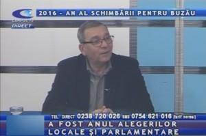 2016 – AN AL SCHIMBĂRII PENTRU BUZĂU