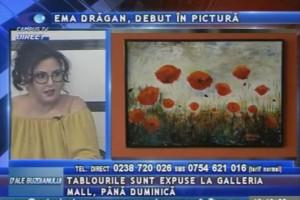 EMA DRĂGAN, DEBUT ÎN PICTURĂ
