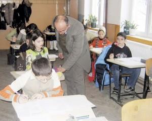profesor la clasa