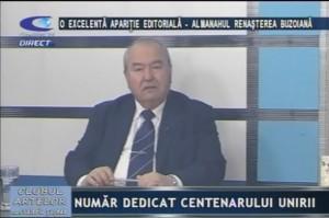 """O EXCELENTĂ APARIŢIE EDITORIALĂ - ALMANAHUL """"RENAŞTEREA BUZOIANĂ"""""""