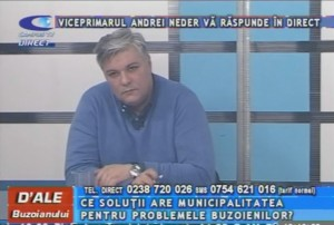 VICEPRIMARUL ANDREI NEDER, LA CAMPUS TV