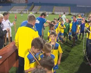 interliga fotbal copii stadion gloria4