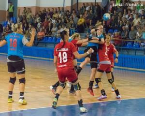 handbal fete scm gloria - csm roman 2
