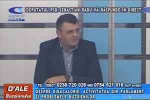DEPUTATUL SEBASTIAN RADU, LA CAMPUS TV