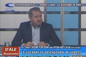 VICEPREŞEDINTELE CONSILIULUI JUDEŢEAN, ROMEO LUNGU, LA CAMPUS TV