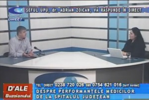 ŞEFUL UPU, DR. ADRIAN ZOICAN, LA CAMPUS TV