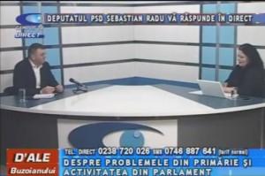 DEPUTATUL PSD SEBASTIAN RADU, LA CAMPUS TV