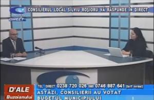 CONSILIERUL LOCAL SILVIU ROŞIORU, LA CAMPUS TV