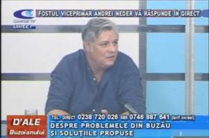 FOSTUL VICEPRIMAR ANDREI NEDER, LA CAMPUS TV