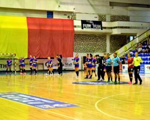Gloria handbal fete cu U Cluj 4