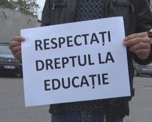 protest scoala nr 6