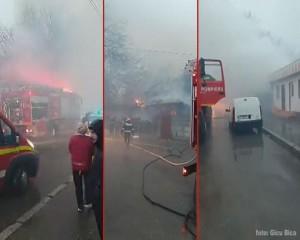 incendiu casa piata doronbanti