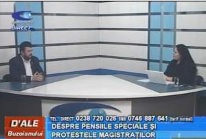 SENATORUL DORIN BĂDULESCU, LA CAMPUS TV