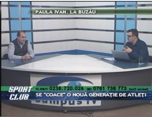PAULA IVAN, LA BUZĂU