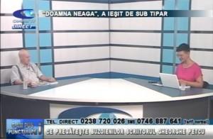"""DOAMNA NEAGA"" A IEȘIT DE SUB TIPAR"