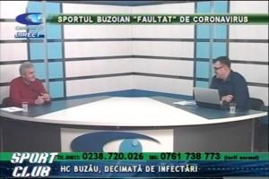 SPORTUL BUZOIAN, FAULTAT DE CORONAVIRUS