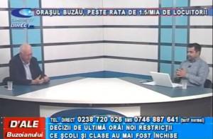 ORAȘUL BUZĂU, PESTE RATA DE 1,5/MIA DE LOCUITORI