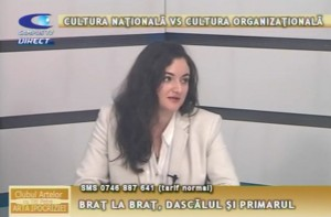 CULTURA NAȚIONALĂ VS CULTURA ORGANIZAȚIONALĂ