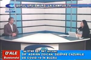 ȘEFUL UPU-SMURD, LA CAMPUS TV