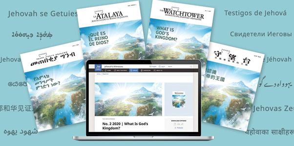 """Sub titlul """"Ce este Regatul lui Dumnezeu?"""", în luna noiembrie vor fi distribuite într-o campanie mondială ediții tipărite și electronice ale revistei Turnul de veghe"""