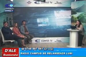 RADIO CAMPUS SE RELANSEAZĂ LUNI