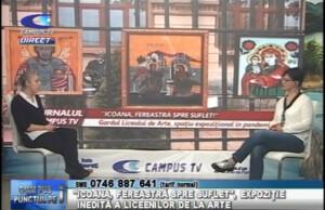 """""""ICOANA, FEREASTRĂ SPRE SUFLET"""", EXPOZIȚIE INEDITĂ A LICEENILOR DE LA ARTE"""