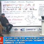 """Festivalul de caricatură """"BZÂMBETE"""", sâmbătă, la Buzău"""