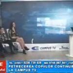 Petrecerea copiilor continuă la CAMPUS TV