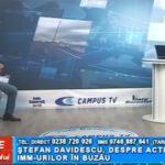 Ștefan Davidescu, despre activitatea IMM-urilor în Buzău