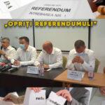 """""""Să se oprească cu Referendumul!"""" Opoziția critică proiectul primarului Toma"""