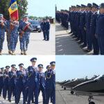 Încă o generație de piloți militari. Festivitate de absolvire în baza aeriană Boboc
