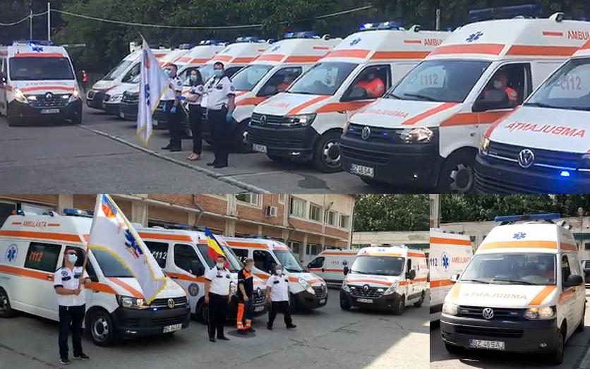Corul sirenelor de la salvare. De Ziua Națională a Ambulanței