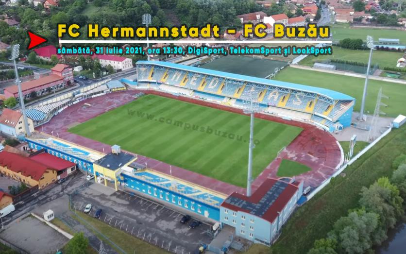 FC Buzău, gata de start. Sâmbătă, primul meci, în deplasare cu Hermannstadt
