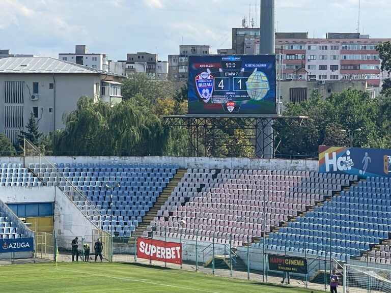 Nicio problemă, cu Metaloglobus. FC Buzău s-a impus clar, cu 4 la 1