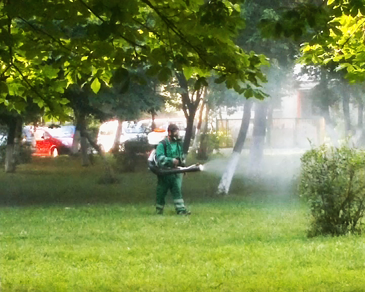 RER SUD începe cea de-a doua etapă de dezinsecție la sol, în municipiul Buzău