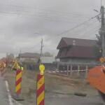 Marea asfaltare de pe strada Transilvaniei este în impas