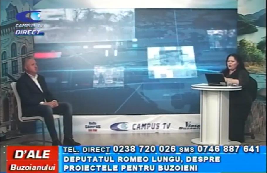 Deputatul Romeo Lungu, despre proiectele pentru buzoieni