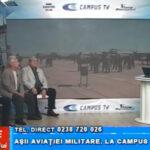 Așii aviației militare, la CAMPUS TV