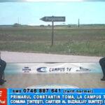 Primarul Constantin Toma, la CAMPUS TV. Comuna Țintești, cartier al Buzăului? Sunteți de acord?