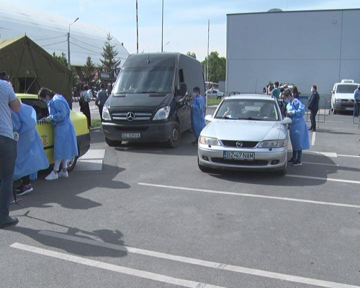 S-a deschis primul centru de vaccinare Drive thru din județ. Buzoienii se vor putea vaccina fără programare.