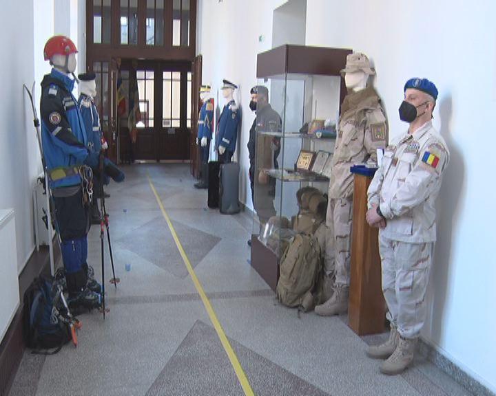 """Expoziție inedită la Muzeul Județean. """"Jandarmeria Română 1850 – 2020"""""""