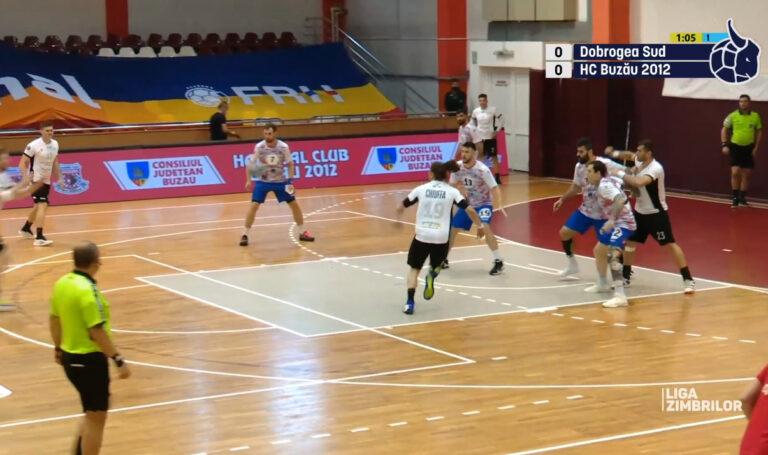 Eșec, în ultima etapă. HC Buzău a pierdut azi, cu Dobrogea Sud