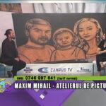 Maxim Mihail, atelierul de pictură