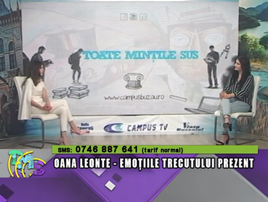 Oana Leonte, emoțiile trecutului prezent