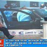Șeful UPU-SMURD, dr. Adrian Zoican, la CAMPUS TV