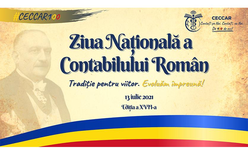 Ziua Națională a Contabilului Român. Centenarul profesiei contabile reglementate în România.