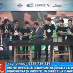 Campioni naționali la robotică. Demonstrații inedite, în direct la CAMPUS TV