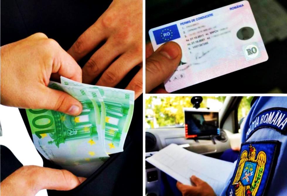 Șpagă pentru permis auto, la Buzău! Un fost polițist și alți doi inculpați, reținuți! Află aici detalii!